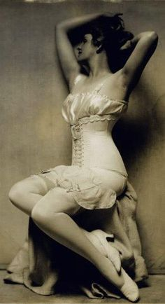 1920s lingerie and corset