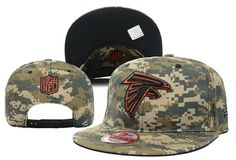 Wholesale Cheap Atlanta Falcons Camo 2 Tone Snapback Hat