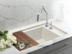 Kitchen sink cutting board