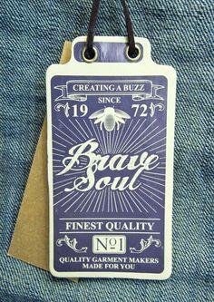 Brave Soul #hangtag