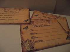 Personalize  Tea  Pot  And  Butterfly   Invitations by mslizz, $15.00