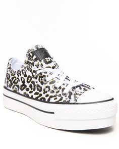 Love this Animal Print Chuck Taylor All Star Platform Sne... on DrJays. Take a look and get 20% off your next order!