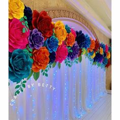 My all time favorite fiesta backdrop is this 16 foot all rose backdrop for a Mexican Fiesta quinceañera. Mexican Theme Baby Shower, Mexican Fiesta Birthday Party, Fiesta Theme Party, Mexican Party Decorations, Quince Decorations, Quinceanera Themes, Quinceanera Planning, Diy Quinceanera Decorations, Minnie Birthday