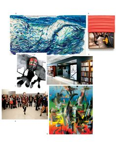 GQ - How to Become an Art Collector - LA page