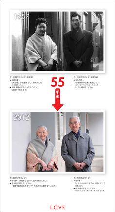 LOVE:1957年 → 2012年