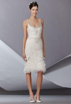 Carolina Herrera Fall 2014 Wedding Dresses - The Knot Blog