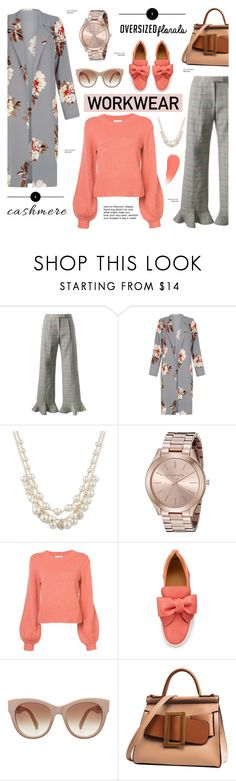 """Work Wear"" by cly88 ❤ liked on Polyvore featuring Rosie Assoulin, Anne Klein, Michael Kors, Chloé, BUSCEMI, STELLA McCARTNEY and Burberry"