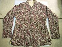 Indian Winter Jacket Coat Cotton Quilted Reversible for Women Size M,L,and XL