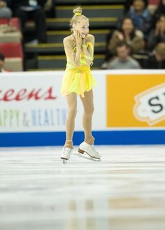 Elena Radionova of Russia skates her short program at Skate America 2013 in Detroit, Michigan, October 19, 2013.