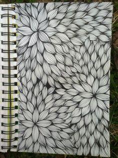 Filiz Uçar  • 8 saat önce     Sketchbook : Floral Line Weaving @ blog.kitskorner.com