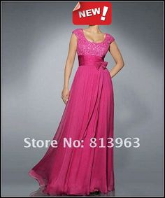 Cheap Price Hot Sale 2013 Custom Made A Line 1/2 Long Sleeves Floor Length Beaded Chiffon Lace Pink Mother of Bride Dresses-in Mother of the Bride Dresses from Apparel & Accessories on Aliexpress.com