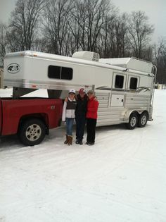 4-Star Trailers, Inc. and Altmeyer's Trailer Sales would like to thank John and Sarah Yake for the purchase of their new 2H trailer! 800.352.1565
