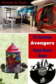 12 Awesome Decor Pieces Inspired by The Avengers - Homes and Hues