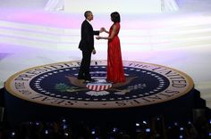 Jason Wu does it again as the First Lady of the United States, Michelle Obama, chose his design for President Barack Obama's Inauguration Ball.