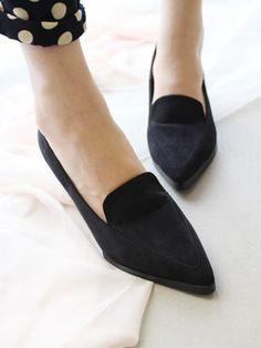 Suede Pointed Heels