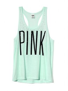 Racerback Tank - PINK - Victorias Secret