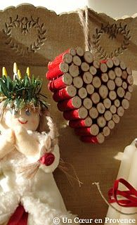 Great idea for all my extra corks!