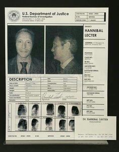 Hannibal Lecter, MD.