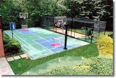 Sport Court game court, fun for the entire family