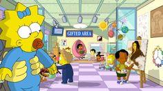 #Maggie #Simpson descubriendo los misterios de las #matemáticas de forma lúdica