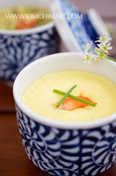 Classic Gyeran Jjim-Korean steamed eggs is made by steaming in a double boiler. The eggs come out really moist and soft with tons of flavor.