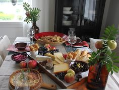 Table Settings, Cheese, Food, Essen, Place Settings, Meals, Yemek, Eten, Tablescapes