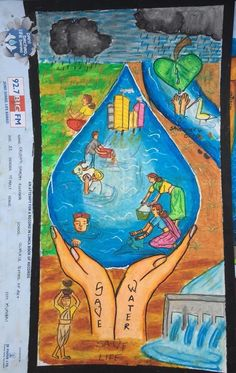 Save Water Painting Competition In 2019 Pinterest Save Water