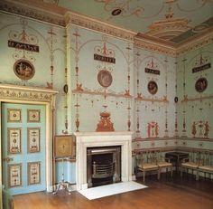Etruscan room, Osterly House, Robert Adam.