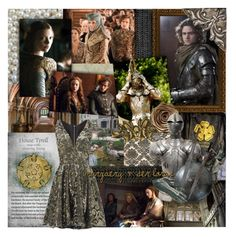 """Margaery & Loras Tyrell"" by evil-laugh ❤ liked on Polyvore featuring art"