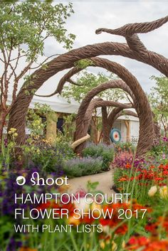 Hot off the press! All the main RHS Hampton Court Flower Show gardens with plant lists