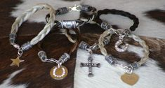 Welcome to Tail Spin Bracelets - Custom Horsehair Jewelry. Incredible beautiful jewelry for the horse lover!!!