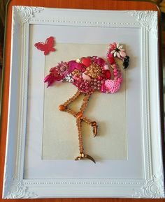 My latest jewellery creation which is also my favorite to date is my Flamingo ❤