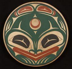 Frog drum Dennis Allen, Coast Salish