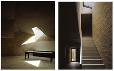 caruso st john brick house Brick, Stairs, Contemporary, House, Lightbox, Wedge, Home Decor, Urban, Searching