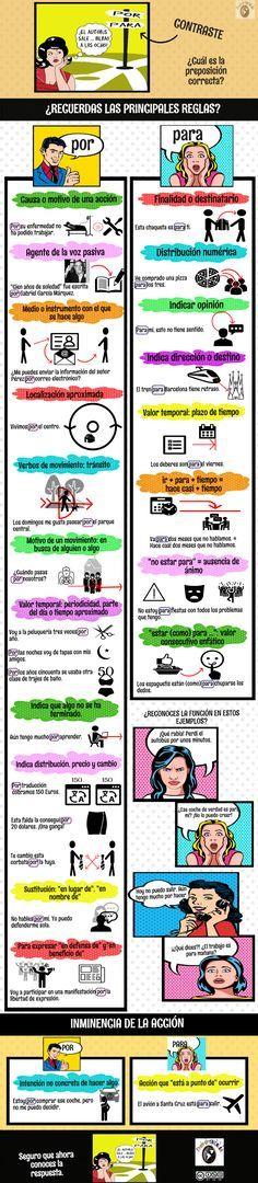 SERIE PREPOSICIONES: POR-PARA (IV)   Profe-de-español.de
