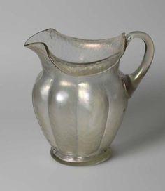 Loetz glass jug
