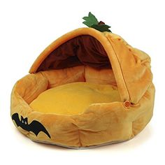 Joy Adventure Cute Soft Halloween Pumpkin Pet House Bed f... https://www.amazon.com/dp/B01IRMQAL0/ref=cm_sw_r_pi_dp_x_06MQybC4PRJ7N