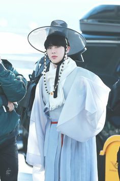 BTS Jin | At Incheon airport depart for MAMA Hong Kong