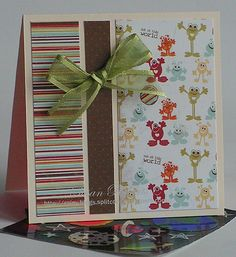 Such a sweet children's card, but great layout for any occasion