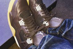 "Anthony Hamilton's ""Chocolate"" Air Jordan 4 Retro"