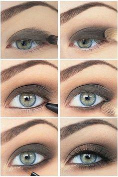 Простой макияж Подходит для ежедневного и вечернего