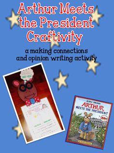Arthur Meets the President Craftivity
