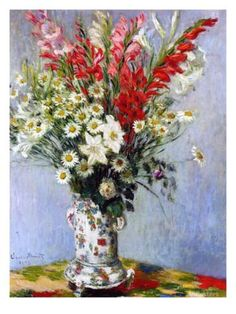 Vase of Flowers, 1878 Giclee Print by Claude Monet at AllPosters.com