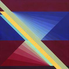 Opuestos 7 (2003) Acrílico sobre lienzo - Ary Brizzi (Argentina 1930-2014)