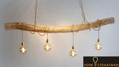 Industriële hanglamp 4 | Houten Lampen