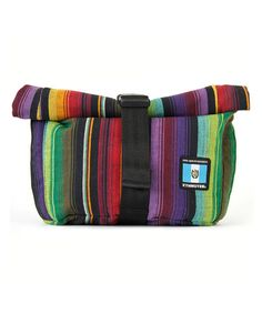 Love this Green & Red Cyclo Sling Messenger Bag by Ethnotek on #zulily! #zulilyfinds