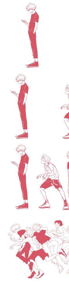 Bakugou, Kirishima, Kaminari, and Sero . Omg Bakugou is gonna kill them Comic Anime, M Anime, Chica Anime Manga, I Love Anime, Otaku Anime, My Hero Academia Shouto, My Hero Academia Episodes, Hero Academia Characters, Anime Characters