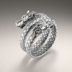 #jewelry #dragon #ring #silver