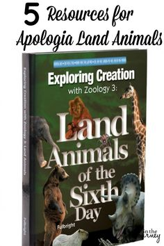 While Apologia is a program you can use alone,  I think there are five must-have resources for Apologia Land Animals that have made our year even better!