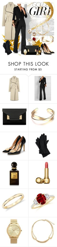 """""""#348"""" by agami87 ❤ liked on Polyvore featuring Murphy, WearAll, Maison Margiela, Sophie Hulme, Rupert Sanderson, Echo, Tom Ford, Christian Dior, Blue Nile and MICHAEL Michael Kors"""